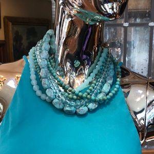 Stella & Dot Blue Necklace